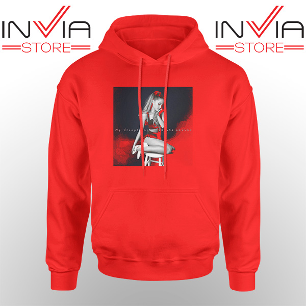 Best Hoodie Ariana Grande Costume Hoodies Adult Unisex Red