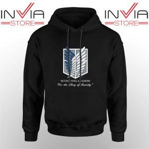 Best Hoodie Attack On Titan Scouting Legion Adult Unisex Black