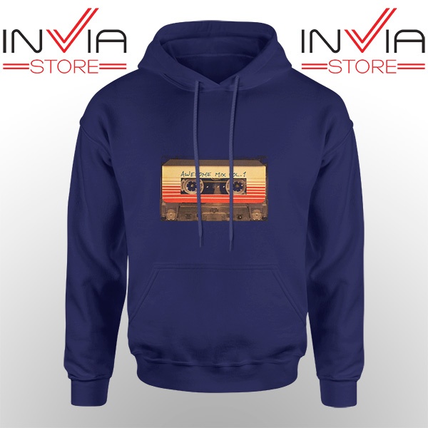 Best Hoodie Awesome Mix Cassette Guardian Adult Unisex Navy