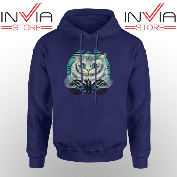 Best Hoodie Bassnectar Chashire Cat Hoodies Adult Unisex Navy