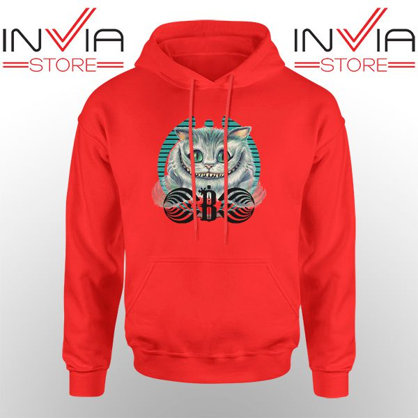 Best Hoodie Bassnectar Chashire Cat Hoodies Adult Unisex Red