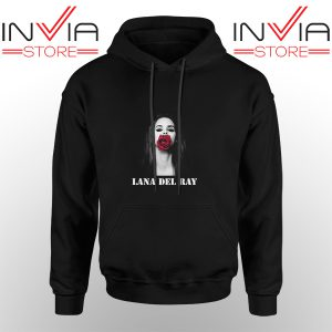 Best Hoodie Lana Del Rey Rose Red Hoodies Adult Unisex Black