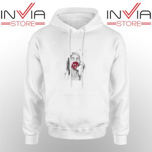 Best Hoodie Lana Del Rey Rose Red Hoodies Adult Unisex White