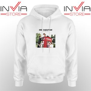 Best Hoodie One Direction Telephone Booth Adult Unisex White