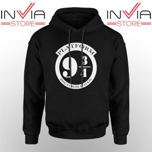Best Hoodie Platform 9 3/4 Harry Potter Hoodies Adult Unisex Black