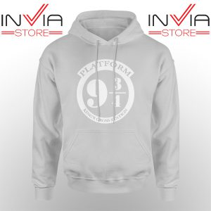 Best Hoodie Platform 9 3/4 Harry Potter Hoodies Adult Unisex Grey