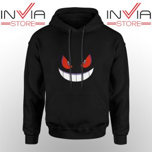 Best Hoodie Pokemon Gengar Evolution Hoodies Adult Unisex Black