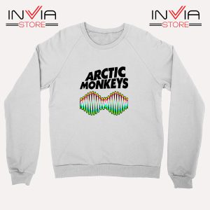 Buy Sweatshirt Arctic Monkeys Zero Seven Sweater Size S-3XL White