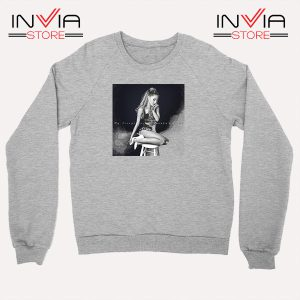 Buy Sweatshirt Ariana Grande Costume Sweater Size S-3XL Grey