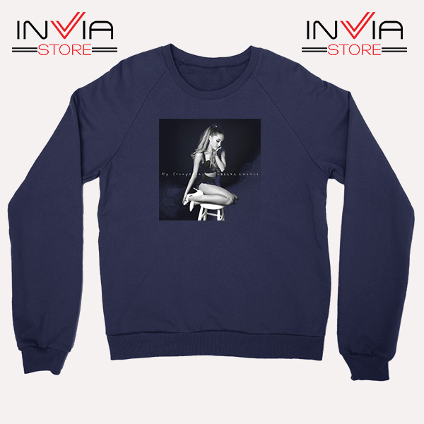 Buy Sweatshirt Ariana Grande Costume Sweater Size S-3XL Navy