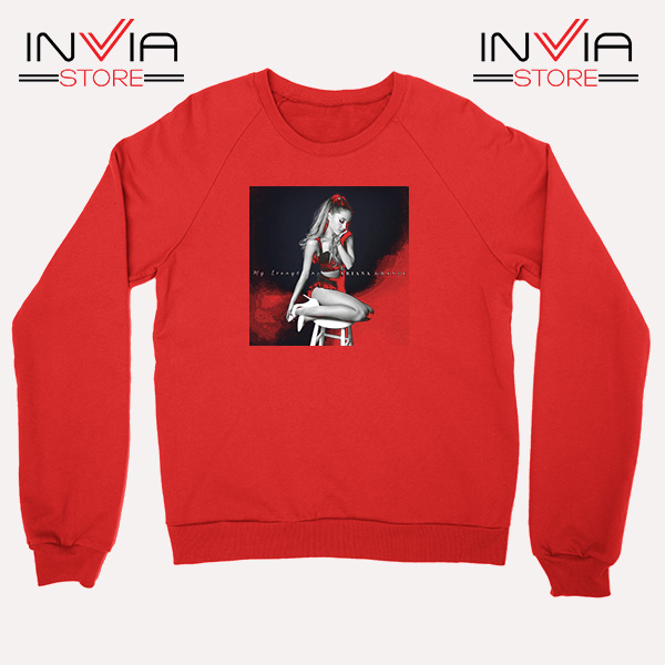 Buy Sweatshirt Ariana Grande Costume Sweater Size S-3XL Red