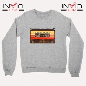 Buy Sweatshirt Awesome Mix Cassette Guardian Sweater Size S-3XL Grey