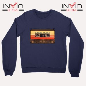 Buy Sweatshirt Awesome Mix Cassette Guardian Sweater Size S-3XL Navy