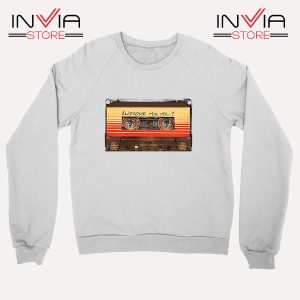 Buy Sweatshirt Awesome Mix Cassette Guardian Sweater Size S-3XL White
