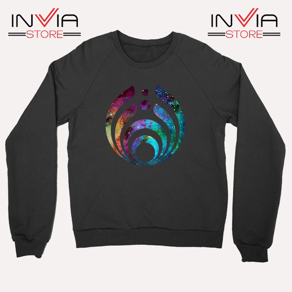 Buy Sweatshirt Bassnectar Nebula Logo Sweater Size S-3XL Black