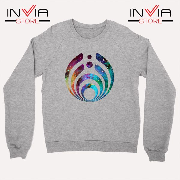 Buy Sweatshirt Bassnectar Nebula Logo Sweater Size S-3XL Grey