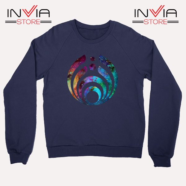 Buy Sweatshirt Bassnectar Nebula Logo Sweater Size S-3XL Navy