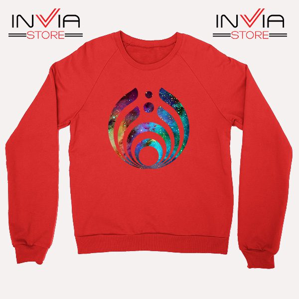 Buy Sweatshirt Bassnectar Nebula Logo Sweater Size S-3XL Red
