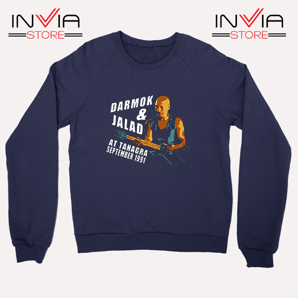 Buy Sweatshirt Darmok And Jalad At Tanagra Sweater Size S-3XL Navy