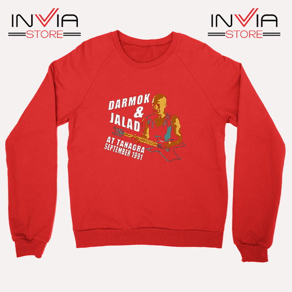 Buy Sweatshirt Darmok And Jalad At Tanagra Sweater Size S-3XL Red