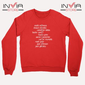 Buy Sweatshirt Magcon is Perfection Sweater Size S-3XL Red