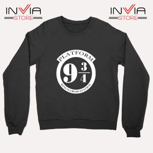 Buy Sweatshirt Platform 9 3/4 Harry Potter Sweater Size S-3XL Black