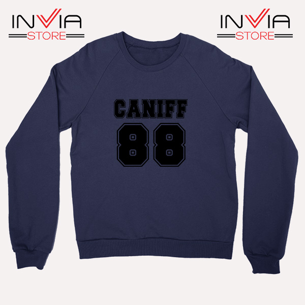 Buy Sweatshirt Taylor Caniff Year Of Birth 88 Sweater Size S-3XL Navy