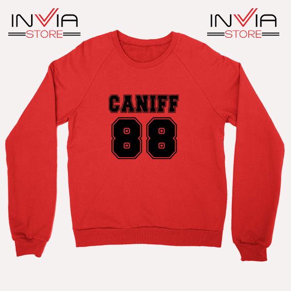 Buy Sweatshirt Taylor Caniff Year Of Birth 88 Sweater Size S-3XL Red