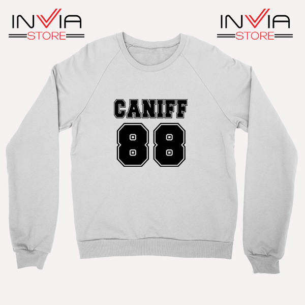 Buy Sweatshirt Taylor Caniff Year Of Birth 88 Sweater Size S-3XL White