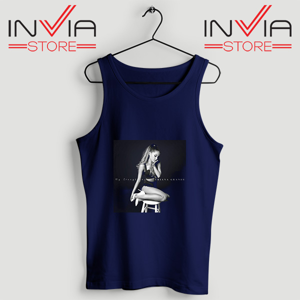Buy Tank Top Ariana Grande Costume Custom Size S-3XL Navy