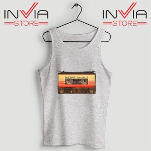 Buy Tank Top Awesome Mix Cassette Guardian Size S-3XL Grey
