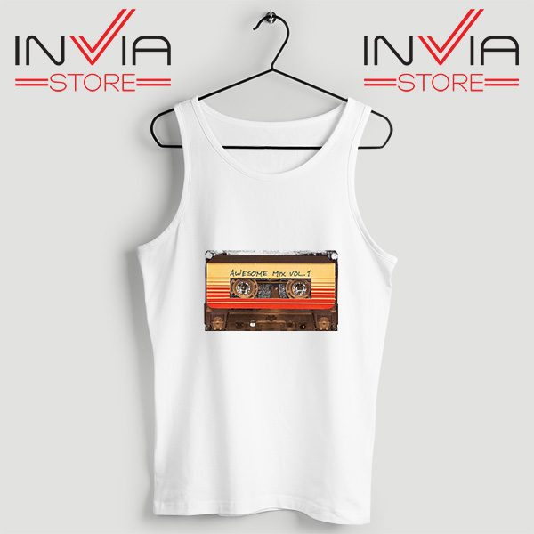 Buy Tank Top Awesome Mix Cassette Guardian Size S-3XL White