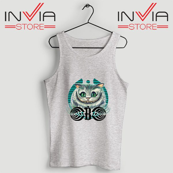 Buy Tank Top Bassnectar Chashire Cat Custom Size S-3XL Grey