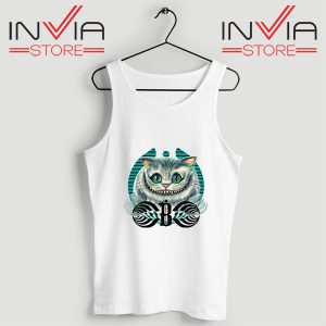 Buy Tank Top Bassnectar Chashire Cat Custom Size S-3XL White