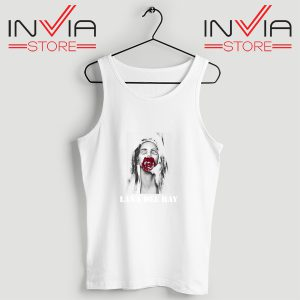 Buy Tank Top Lana Del Rey Rose Red Custom Size S-3XL White