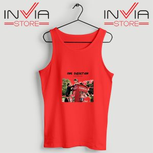 Buy Tank Top One Direction Telephone Booth Size S-3XL Red