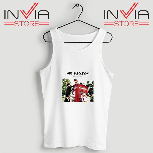 Buy Tank Top One Direction Telephone Booth Size S-3XL White
