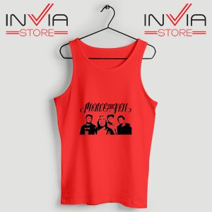 Buy Tank Top Pierce The Veil Tour Custom Size S-3XL Red