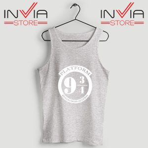 Buy Tank Top Platform 9 3/4 Harry Potter Custom Size S-3XL Grey