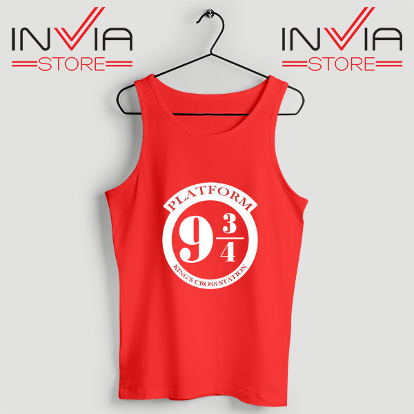Buy Tank Top Platform 9 3/4 Harry Potter Custom Size S-3XL Red