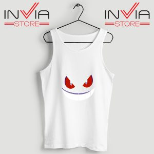 Buy Tank Top Pokemon Gengar Evolution Custom Size S-3XL White