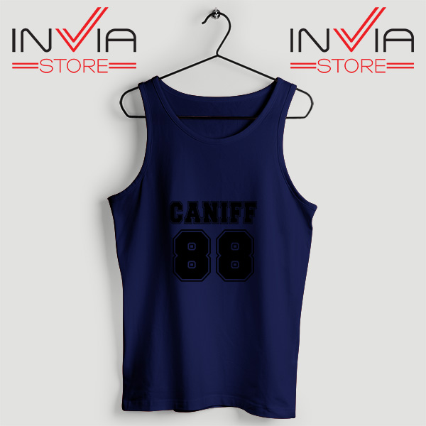 Buy Tank Top Taylor Caniff Year Of Birth 88 Custom Size S-3XL Navy