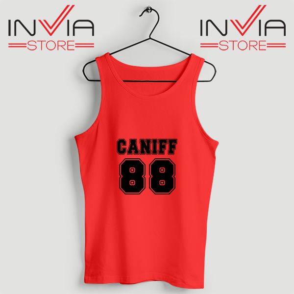 Buy Tank Top Taylor Caniff Year Of Birth 88 Custom Size S-3XL Red