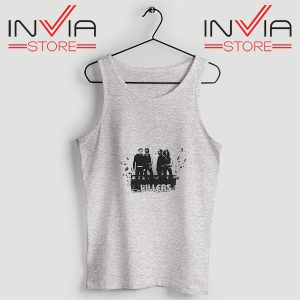 Buy Tank Top The Killers Band Wonderful Size S-3XL Grey