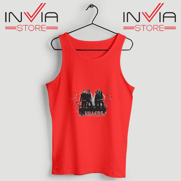 Buy Tank Top The Killers Band Wonderful Size S-3XL Red