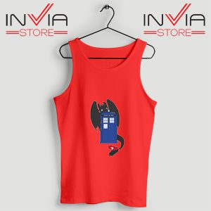 Buy Tank Top Toothless Dragon Telephone Booth Size S-3XL Red