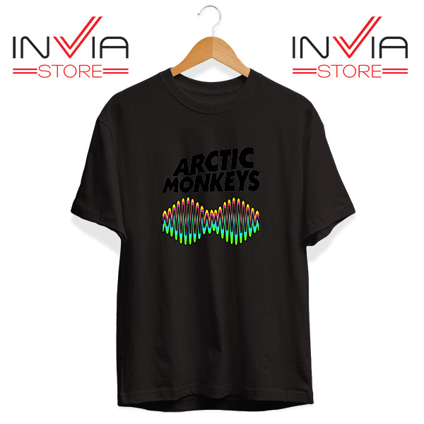 Buy Tshirt Arctic Monkeys Zero Seven Tee Shirt Size S-3XL Black