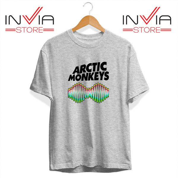 Buy Tshirt Arctic Monkeys Zero Seven Tee Shirt Size S-3XL Grey