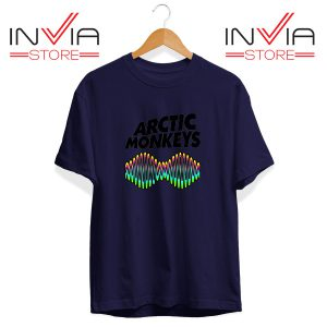 Buy Tshirt Arctic Monkeys Zero Seven Tee Shirt Size S-3XL Navy