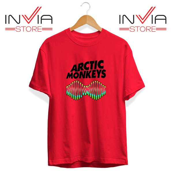 Buy Tshirt Arctic Monkeys Zero Seven Tee Shirt Size S-3XL Red